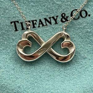 Tiffany & Co. Double Loving Heart Necklace